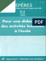 Repères nº 8 - 1993.pdf