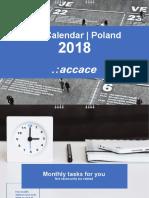 2018 Tax Calendar | Poland