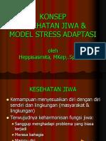 2.Konsep Kesehatan Jiwa & Model Stress Adaptasi