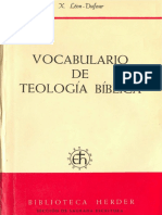 Xavier Léon Dufour-Vocabulario de Teología Bíblica - Copia