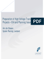 Preparation of High Voltage Transmission