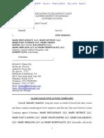 Maru Sushi Tip-Pooling Lawsuit