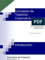 Conceptos de Telefonia Corporativa (Presentacion)