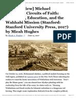 [Book Review] Michael Farquhar, Circuits of Faith