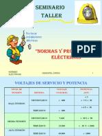 NORMAS PROTECCIONES