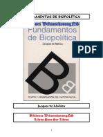 Jaques de Maheiu - Fundamentos de Biopolitica