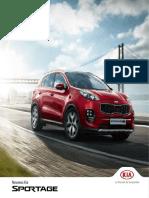 Nouveau Kia Sportage Brochure