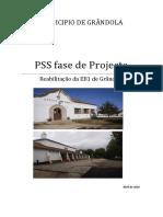 PSS Fase de Projecto EB1 de Gr Ndola