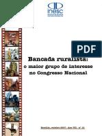 Artigo Bancada Ruralista 2007