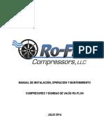 Ro-Flo IOM Manual SP
