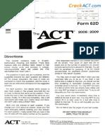 ACT 2009xx Form 62D-Www.crackact.com