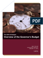 LAO Governor's Budget Summary