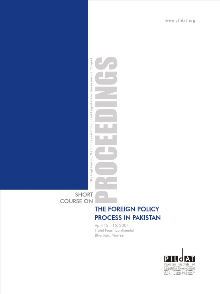 THE FOREIGN POLICY IN STAN- PILDAT.pdf | stan ... on