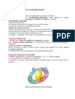 Assurance Qualite Et Referentiels