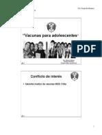 Clase 14 Vacunacion en Asolescentes