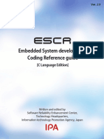 Embedded System Development - Coding Reference Guide