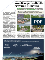 17-01-18 Harán consultas para dividir  a Monterrey por distritos