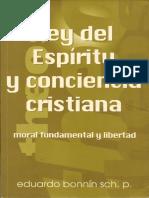 Ley Del Espiritu y Conciencia Cristiana