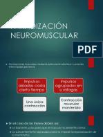 Faradización Neuromuscular