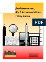 maryland assessment accessibility and accommodations policy manual 2018 final