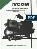 Manual de Operação e Manutenção Chiller MYCOM