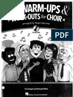 Warmups for Choir Preview
