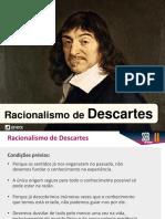 Racionalismo Descartes