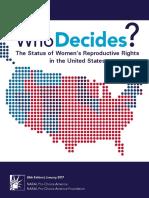Who Decides 2017