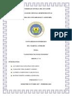GRUPO N° 04 - CASO DE FUSIONES DE ESTADOS FINANCIEROS
