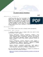 09.Syllabus Lingua Spagnola
