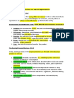 Distribution Retail Marketing Review Notes