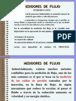 Presentación Unidades I Medidores de Flujo.ppt