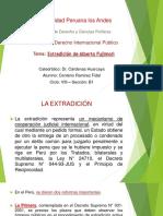 Derecho Internacional Publico - Extradicion de Alberto Fujimori