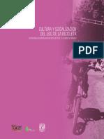 Movilidad en bicileta de la CDMX - Cultura y socializacion.pdf