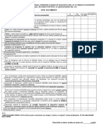 Opis Documente Dosar 2016
