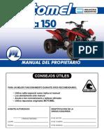 Gorila 150 - Manual Del Propietario