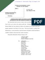 DOJ seeks Robert Menendez retrial