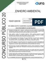 Engenheiro_ambiental 2016 Caldas Novas Ufg