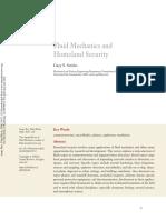 Fluid Mechanics and Homeland Security