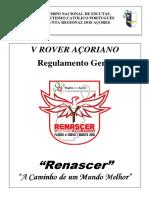 Regulamento v Rover Açoriano