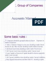 Accounts Manual