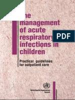 Management ISPA Anak WHO