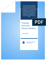 Tracking Hurricane Harvey Recovery_January 2018