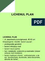 Curs 12 Lichen Plan, Psoriazis, Precancere