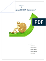 Managing FOREX Exposure