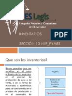 El Salvador Legis - Inventarios