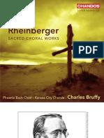 Rheinberger, Sacred Choral Works