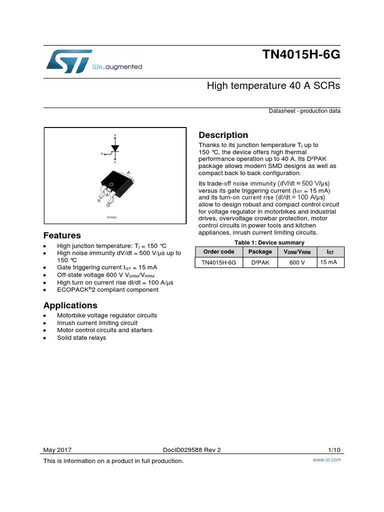 en DM00314140 | Electrical Engineering | Electromagnetism