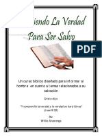 Conociendo La Verdad Para Ser Salvo Por Willie Alvarenga1