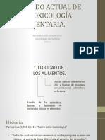 Tóxiccología Alimentaria